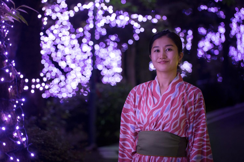 冬桜イルミネーション2021