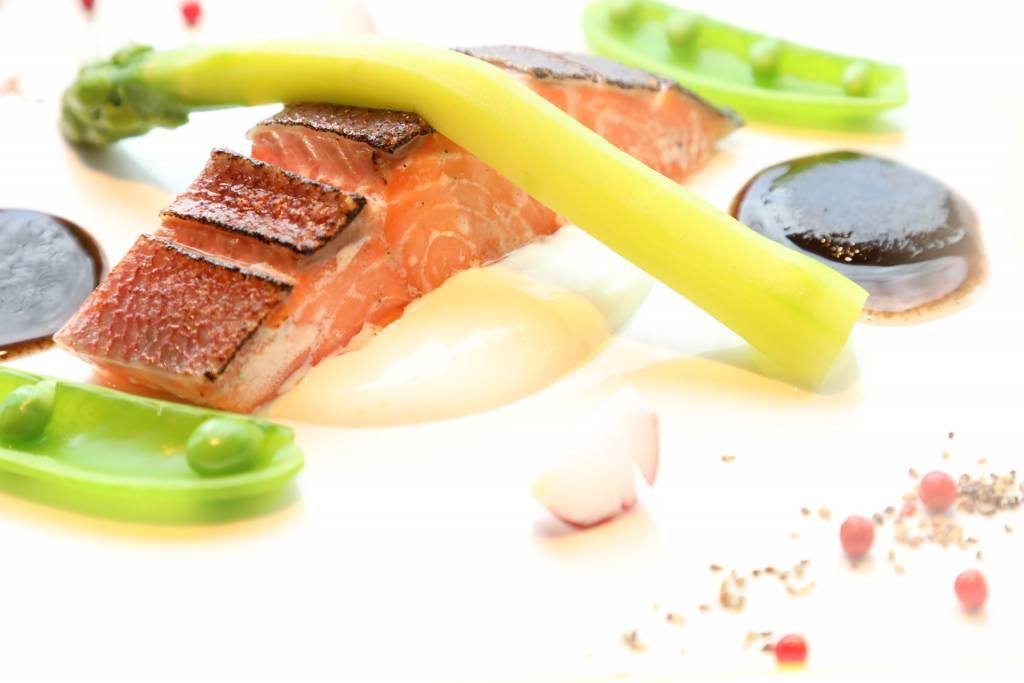 桜鱒炙り焼き