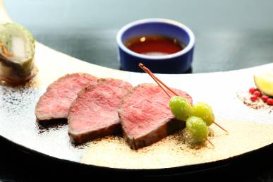 (一例)焼物:佐賀牛炙り焼