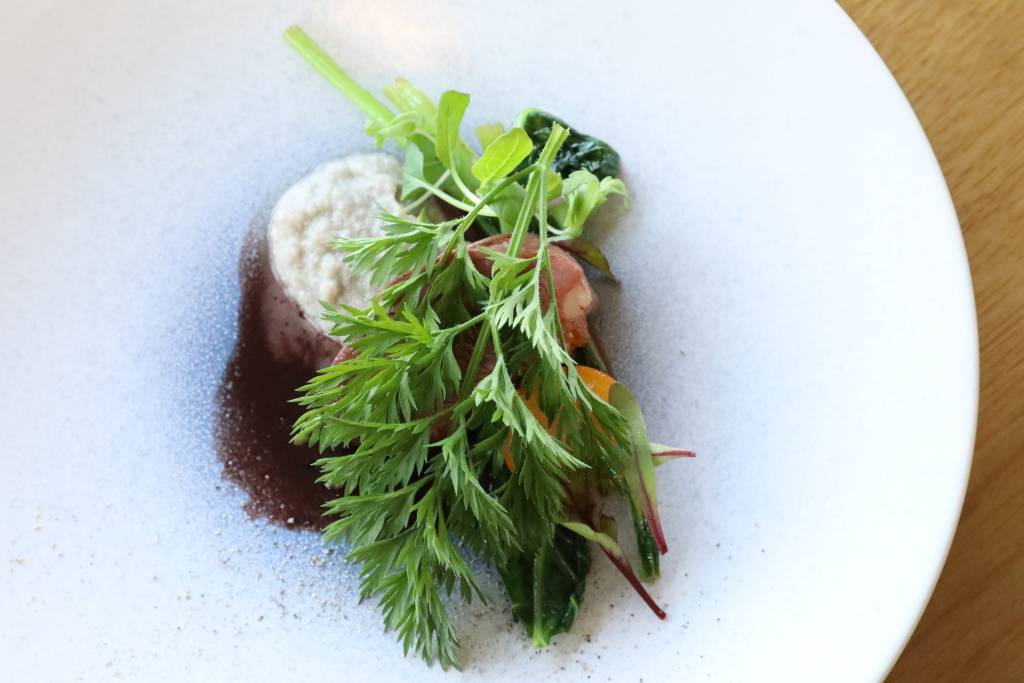 嬉野産の西洋野菜で描く端麗なフレンチ。cafe Restaurant キハコ。