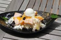 ◆旅館吉田屋監修 「マンゴーのトコナツかき氷」